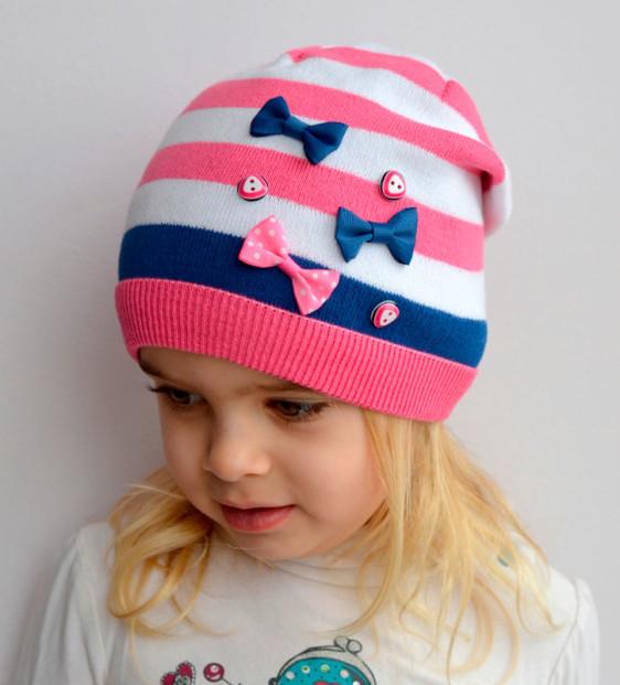 Весенние шапочки для девочек
