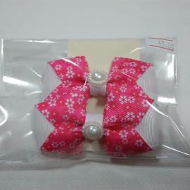 Резинки для волос Розоые бантики