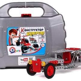 """Конструктор """"Универсал Технок"""", метал., 8 модел., в чемод. 27*21"""