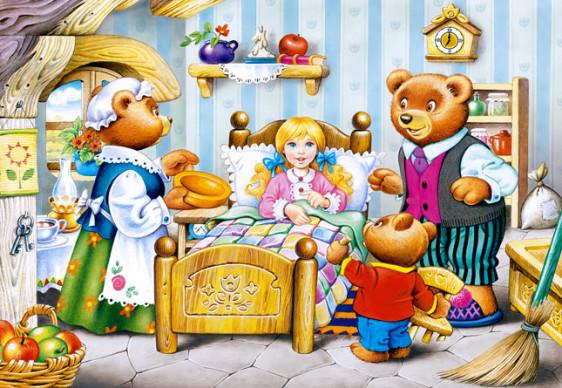 "Кастор пазлы 260 ""Три медведя""32*23 /20/"