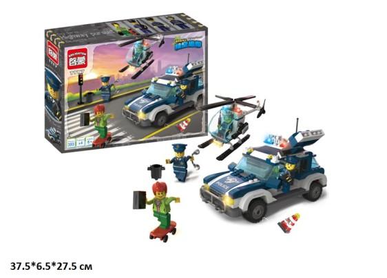 """Конструктор """"Brick"""" """"Полиция"""" 393 дет., кор. 37*27.5*6см (20шт)"""