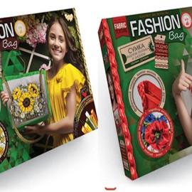 "Набор для творчества ""Fashion Bag"" (вишивка лентами и бисером ), в кор. 37*25*4см (6 шт)"