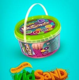 """Кинетический песок """"Kid Sand"""", 500г (24шт)"""