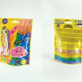 """Кинетический песок с блёстками """"Kid Sand"""", 400г, в пакете 12*17*4см (18шт)"""