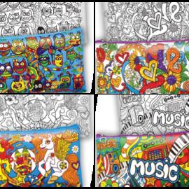 """Набор для творчества """"My Color Clutch"""", клатч- пенал раскраска, в кор. 22*15*3см (18шт)"""