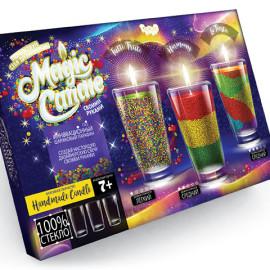 """Набор для творчества """"Magic Candle"""", парафиновые свечки своими руками, в кор. 24*23*7см (4шт)"""
