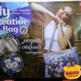 """Набор для творчества Сумка женская """"Fashion Bag"""" (вышивка лентами и бисером ), в коробке"""