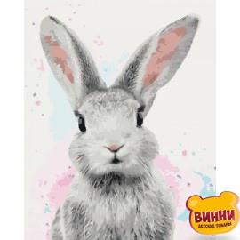 Картина по номерам Сахарный кролик, 40*50 см KHO4067