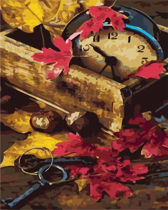 Картина по номерам в коробке 40*50 см AS0300 Осень