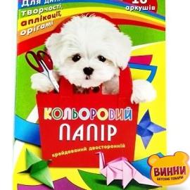 Бумага цветная А4 16 листов для оригами (журн.)