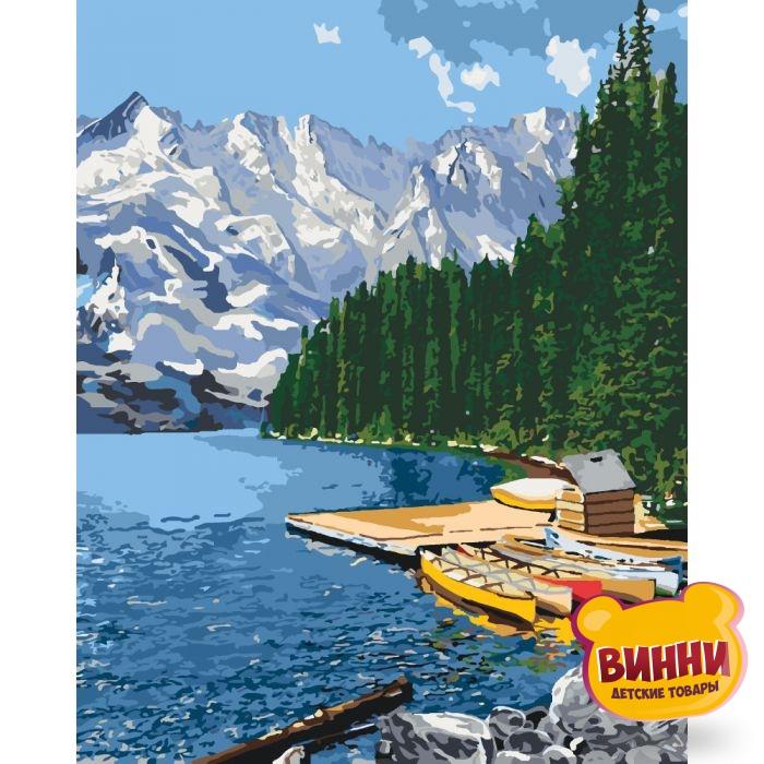 Картина по номерам Горное озеро, 40*50 см KHО2223