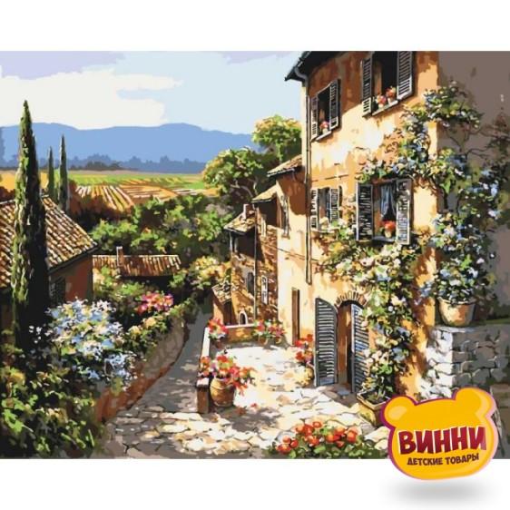 Картина по номерам Пейзажи Тосканы, 40*50 см KHО2232