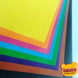 Бумага цветная А4 9 листов Украина УВ-5 (офс)