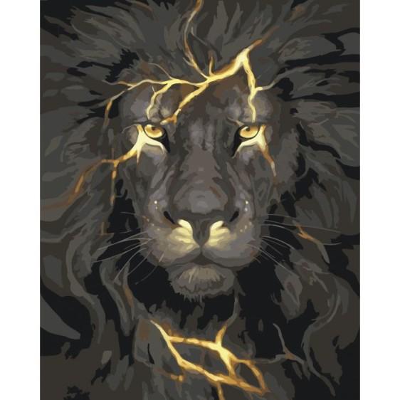 Картина по номерам Огненный свет, 40*50 см KHO4078
