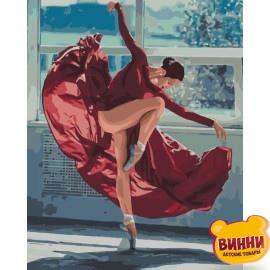 Картина по номерам Танец огня, 40*50 см KHO4512