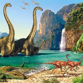 """Кастор пазлы 060 """"Динозавры"""" 32*23 см В-06922"""