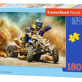 """Кастор пазлы 180 """"Квадроцикл"""" 32*23 B-018420"""