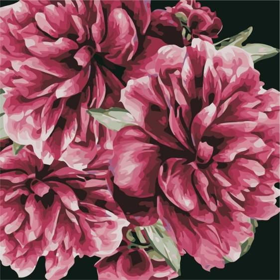 Картина по номерам 40*40 см AS0503 Цветы для тебя