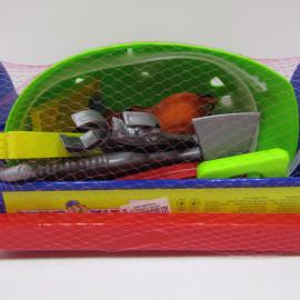 Набор Юный Плотник 23дет. с топором и молотком, каской в чемодане