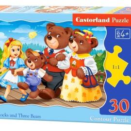 "Кастор пазлы 030 ""Три медведя"" 32*23 /40/"