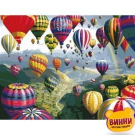 Картина по номерам Воздушные шары, 40*50 см KHO1056