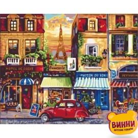 Картина по номерам Улицами Парижа, 40*50 см KHO2189