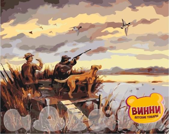 Картина по номерам Охота на уток, 40*50 см KHO2252