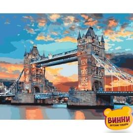 Картина по номерам Лондонский мост, 40*50 см KHO3515