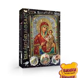 """Набор для творчества """"Алмазная мозаика Diamond mosaic"""", мал, в коробке 35*27*3 см икона"""