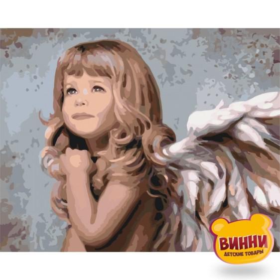 Картина по номерам Маленький ангелочек, 40*50 см КНО2309