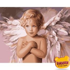 Картина по номерам Ангел удачи, 40*50 см KHO2315