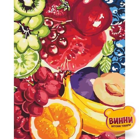 Картина по номерам Сладкие фрукты, 40*50 см КНО2937