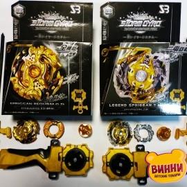"Игра ""Beyblade"" Бейблэйд Legend Requiem+Gold запуск+рукоятка, 852"