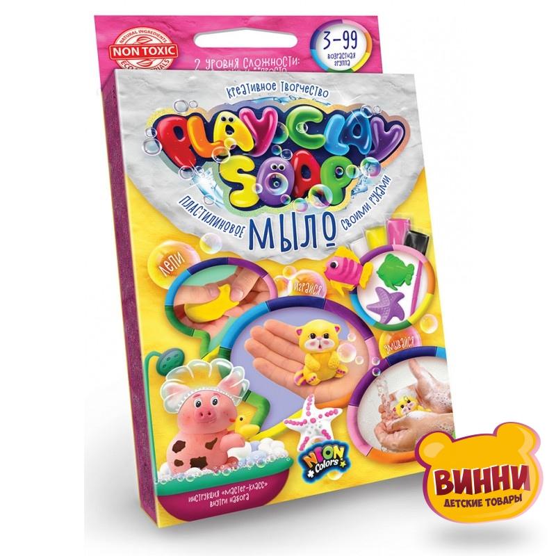 """Набор для творчества """"Пластилиновое мыло""""PLAY CLAY SOAP"""" маленький, в кор.9*15*2,5 см"""