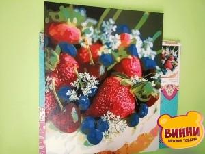 Готовая картина Ягодный десерт, 40*50 см, в коробке