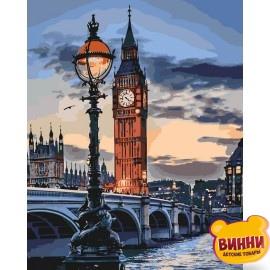 Картина по номерам Лондон в сумерках, 40*50 см KHO3555