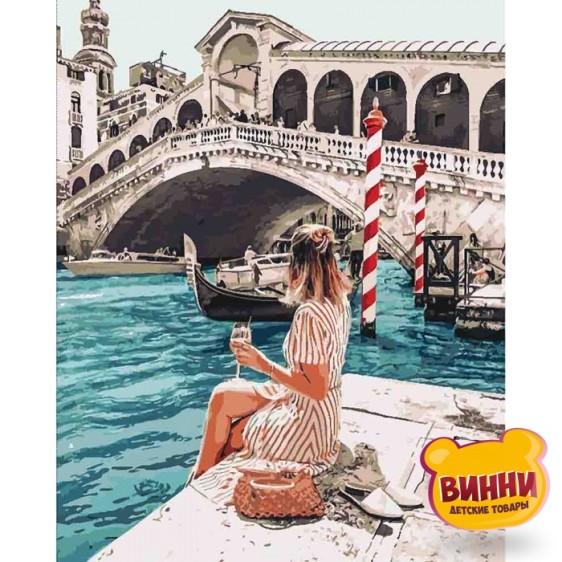 Картина по номерам Влюблена в Венецию, 40*50 см KHO4526