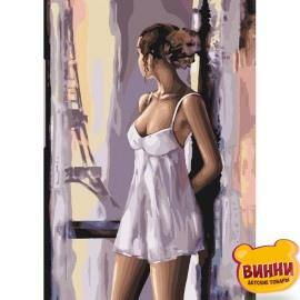 Картина по номерам Французские мечты, 40*50 см KHО4598