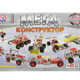 Конструктор металлический Мегауниверсал Технок, 4364