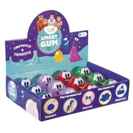 Пластилін для дитячої ліпки «SMART GUM», що світиться в темряві 6,1*6,1*6см HG03