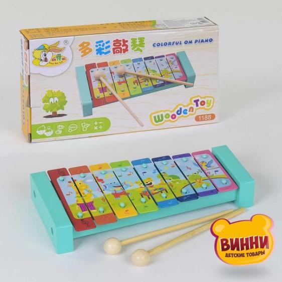 Деревянная игра Ксилофон в коробке 25х13х4 см, C37695