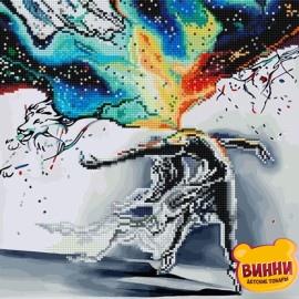 Алмазная картина - раскраска по номерам Всплеск чувств 40*50 см, GZS1008