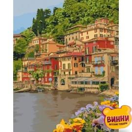 Картина по номерам Набережная Италии, 40*50 см KHО2259
