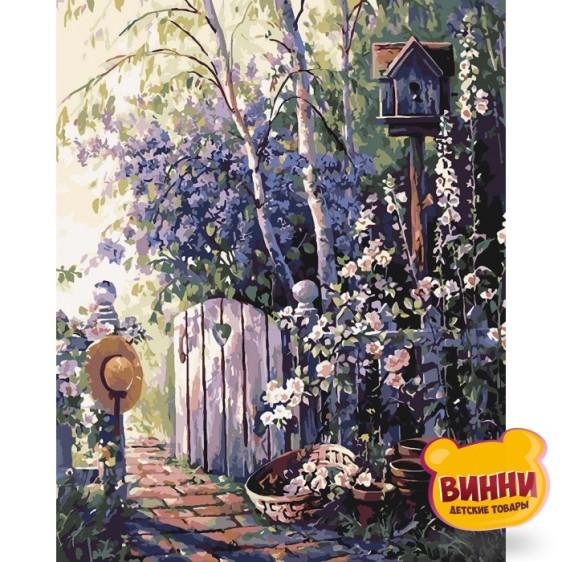 Картина по номерам Горная лаванда, 40*50 см KHО2261