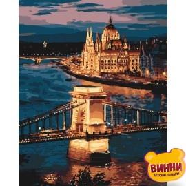 Картина по номерам Волшебный Будапешт, 40*50 см KHО3557