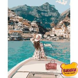 Картина по номерам Путешествие на яхте, 40*50 см KHО4614