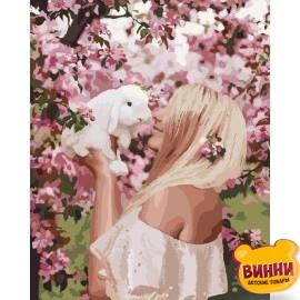 Картина по номерам Весенняя нежность, 40*50 см KHО4616