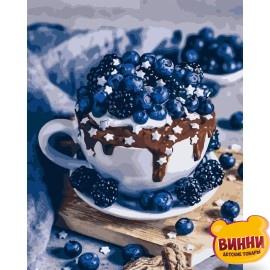 Картина по номерам Шоколадный брауни, 40*50 см KHО5557