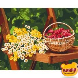 Картина по номерам Летние дары, 40*50 см KHО5560