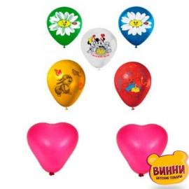 """Шарики набор """"Сердце+День Рождения"""", набор 15 шт, 247"""